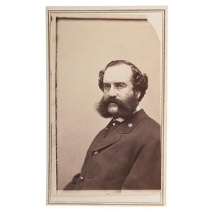 Confederate Colonel F.H. Barrett, 2nd Texas Cavalry, CDV