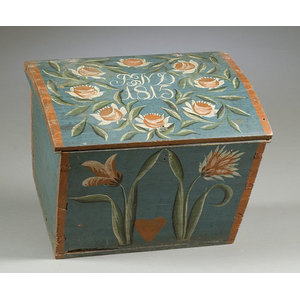 Northern European Painted Chest,
