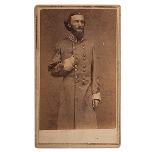 CSA General John Sappington Marmaduke, CDV