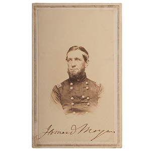 Union General James D. Morgan, CDV