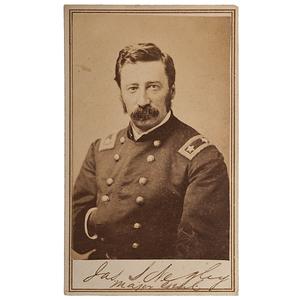 Union General James S. Negley, Signed CDV