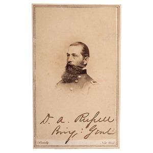 Union General David A. Russell, KIA Winchester, Signed CDV