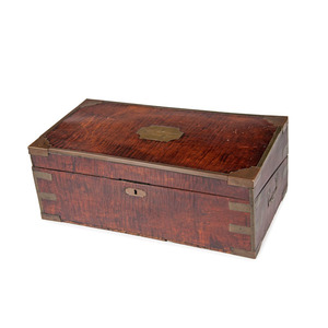 Early American Writing Desk Identified to Henry Worthington, Who Served Aboard the USS Constitution