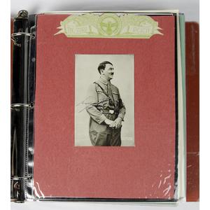 Third Reich Autograph Album