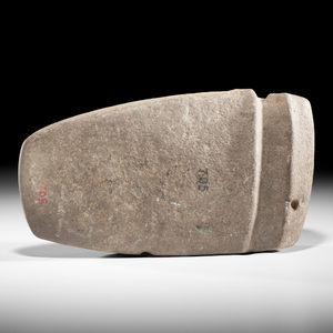 A Massive, 3/4 Grooved Axe, From the Collection of Jan Sorgenfrei, Ohio
