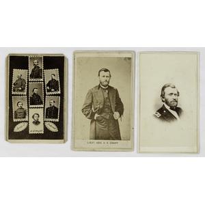 Ulysses S. Grant CDVs, Lot of 3