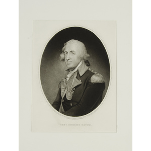 Lithographs of American Revolutionary Military Leaders and More, Lot of 19