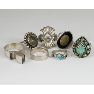 Various Silver Rings