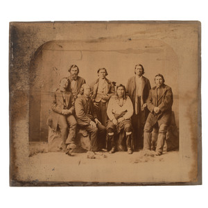 Charles M. Bell Photograph of Chippewa Treaty Delegation