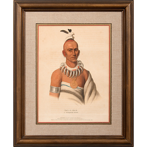 McKenney and Hall Hand-Colored Lithographs