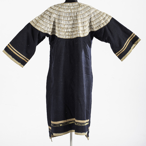 Central Plains Dentalium Shell Wool Dress From the US Children's Museum on the 19th Century
