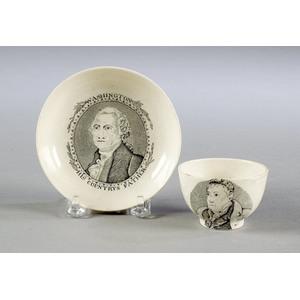 Washington Cup & Saucer,