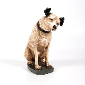 Nipper, RCA Victor Talking Machine Chalkware Dog