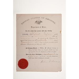 William H. Seward Partial DS, Plus