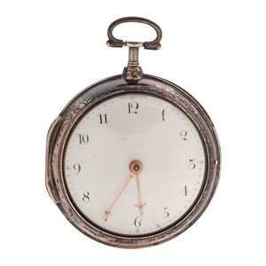 G.M. Smith Paired Case Fusee Pocket Watch Ca 1794