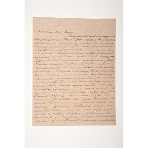 Martin Van Buren ALS, January 20, 1851