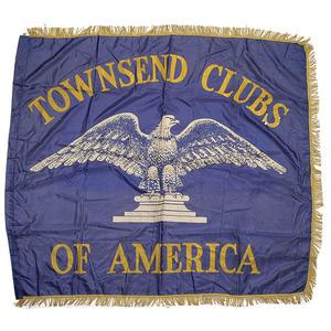 15 Depression-Era Townsend Club Banner,