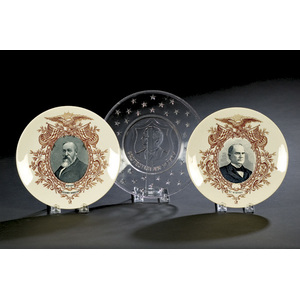 Political China and Pressed Glass,