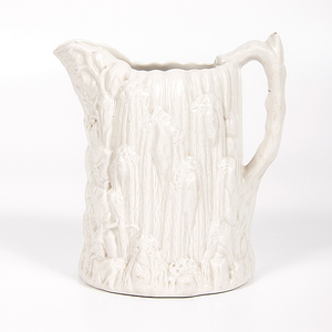 United States Pottery Co. Waterfall Pitcher