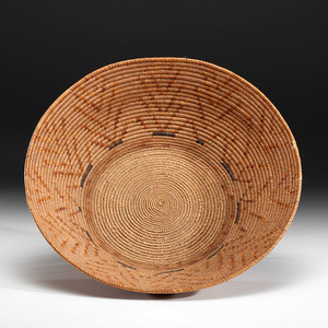 California Mission Basket Deaccessioned from the Hopewell Museum, Hopewell, New Jersey