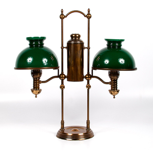 Manhattan Brass Co. Double Student Lamp