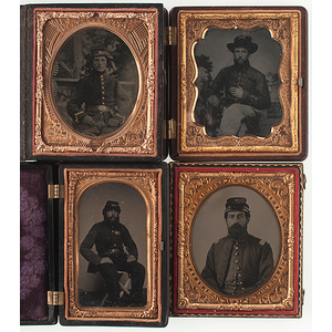 Civil War Ambrotypes and Tintypes of Union Soldiers