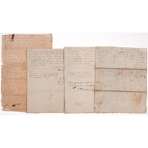 Miscellaneous US Military Appointments and Other Documents, War of 1812 through Civil War