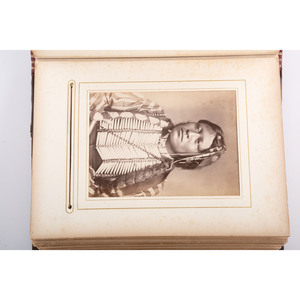 William S. Soule, Extraordinary Photograph Album Containing Portraits of Southern Plains Indians, Gifted by Soule to his Sister
