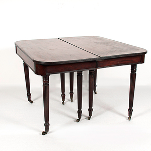 Boston Banquet Table in Mahogany