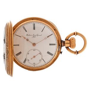 Frederic Louis Ginnel 18 Karat Pocket Watch