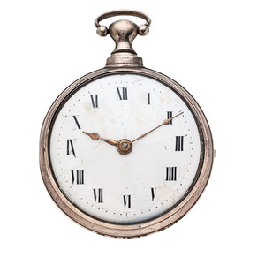 John Grover Paired Case Pocket Watch Ca 1800
