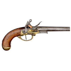 Model 1777 1st Pattern Single-Shot Flintlock Pistol, Charleville