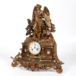 Leforestier Figural Mantle Clock