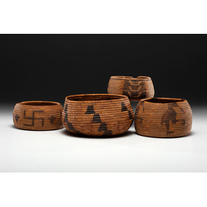 California Mission Baskets Deaccessioned from the Hopewell Museum, Hopewell, New Jersey