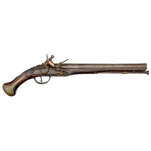 Late 17th - Early 18th Century Single-Shot Flintlock Pistol