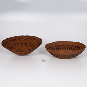 California Baskets Deaccessioned From the Hopewell Museum, Hopewell, New Jersey