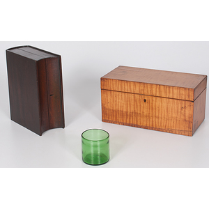 Tiger Maple Tea Caddy, Plus