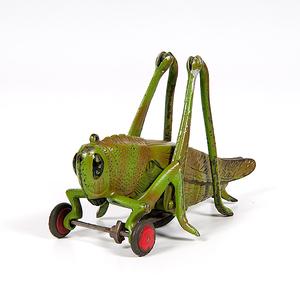 Hubley Cast Iron Grasshopper