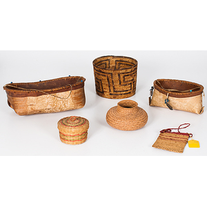 Collection of Baskets from a Minnesota Collection
