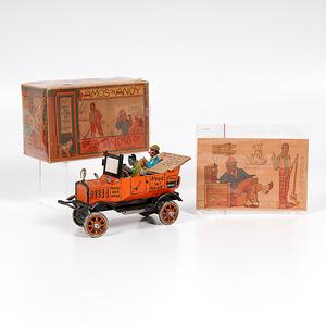 Louis Marx & Co. Amos 'n' Andy Fresh Air Taxi