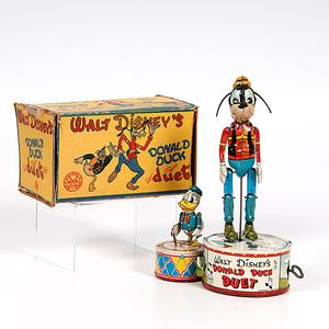 Louis Marx & Co. Donald Duck Duet