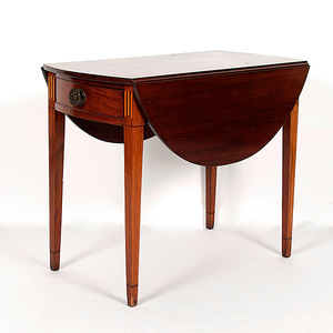 American Hepplewhite Pembroke Table in Mahogany