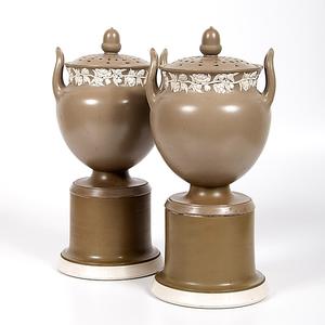 Jasperware Urns