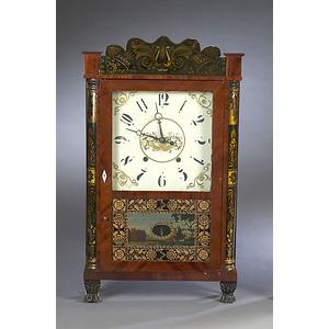 Eli Terry, Jr. Transitional Shelf Clock,