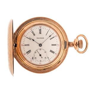 Waltham Hunter Case Pocket Watch, Ca. 1901
