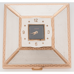 Amere Travel Clock/Compact