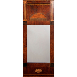 Neoclassical Inlaid Mirror