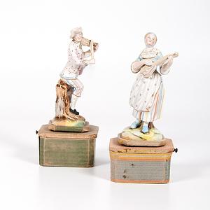 Porcelain Figurine Music Boxes