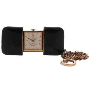 Mark Cross Travel Clock