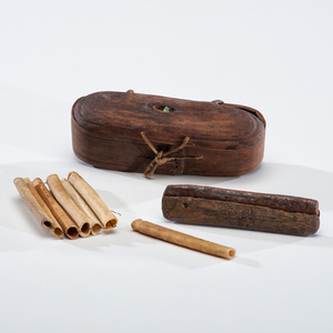 Eskimo Snuff Box, Tubes, and Striker